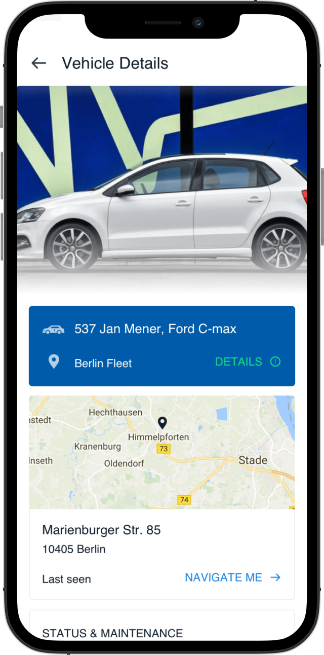 ZF CAR CONNECT App