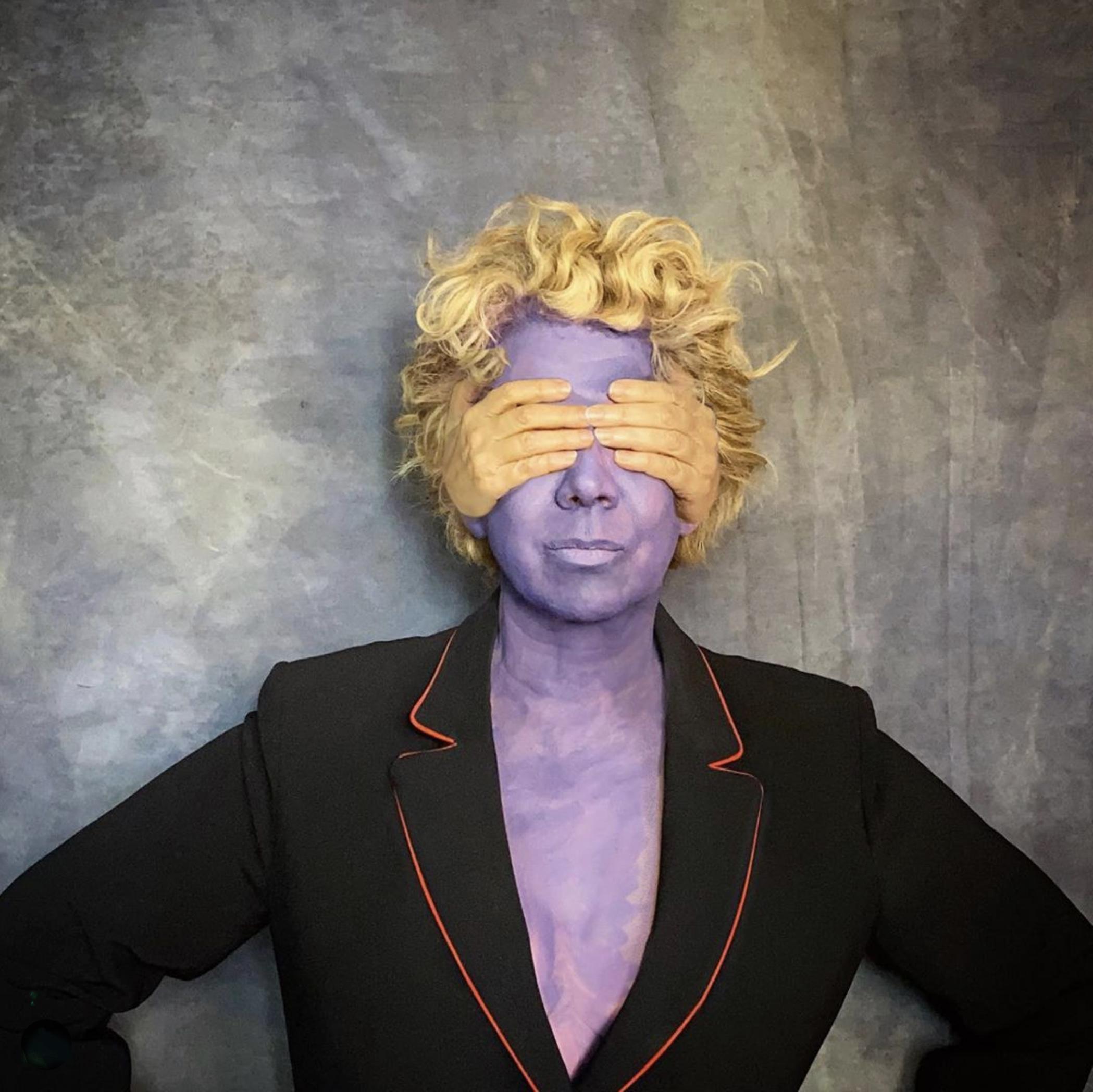 © Hélène Guétary (Paris, France) | Hand made blinding mask
