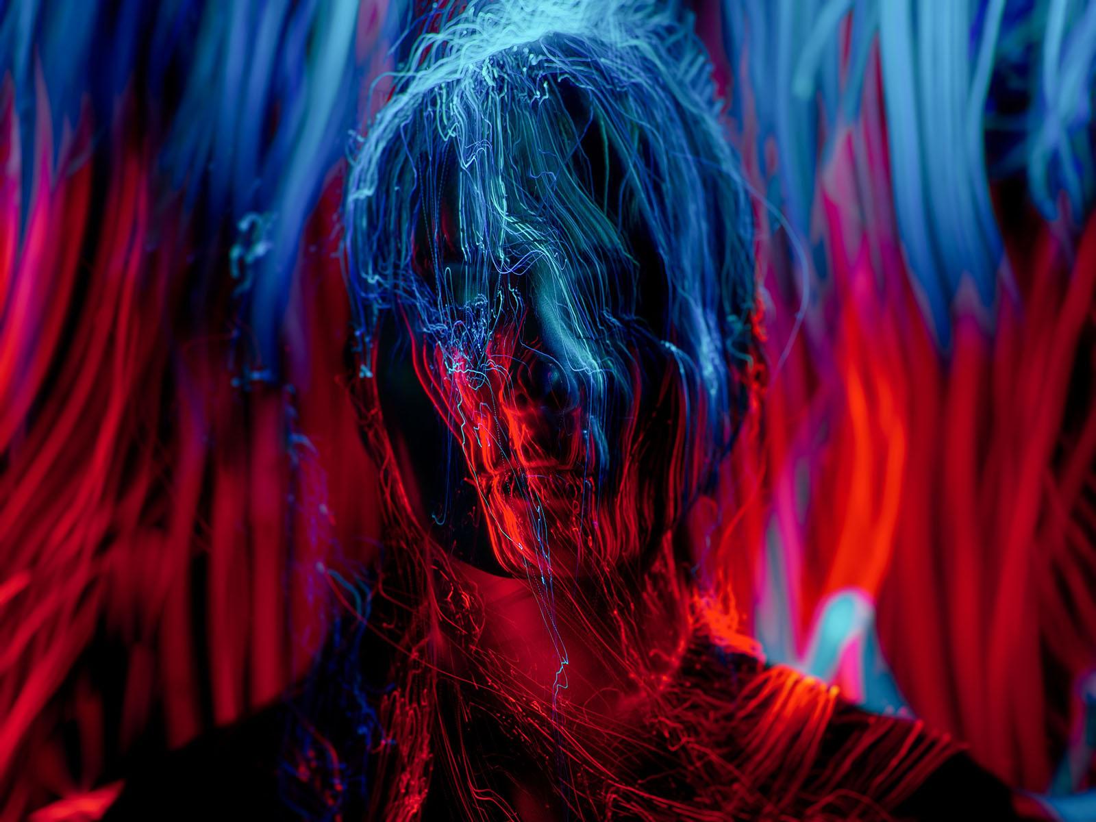 ©Sergey Katyshkin - Lightpainting portrait