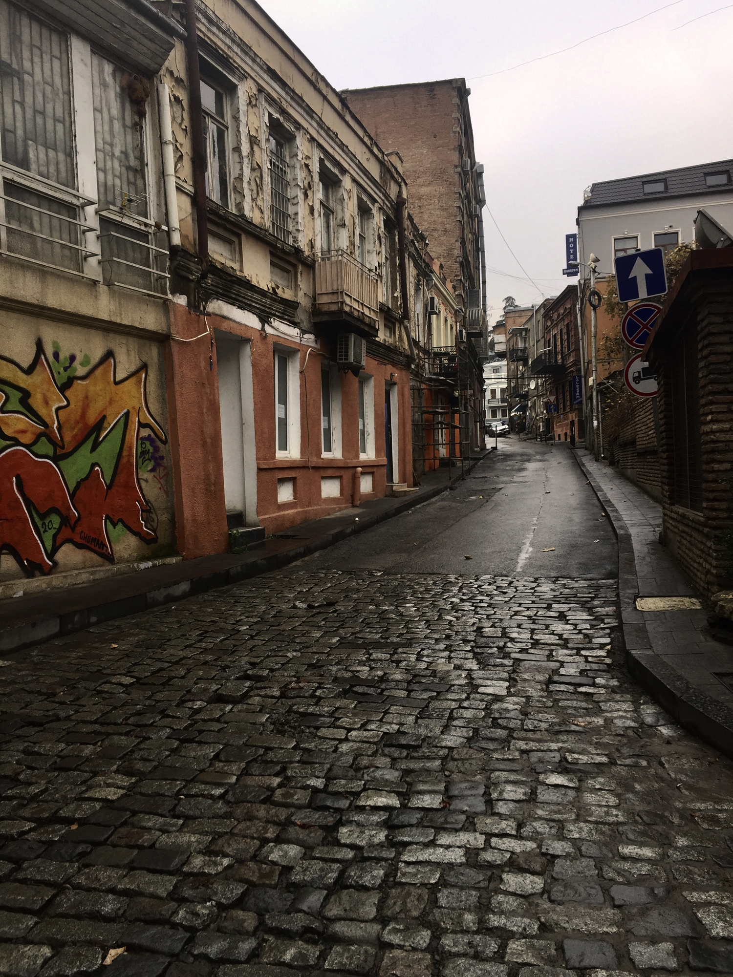 © Nino Memanishvili (Tbilisi, Georgia) | Empty Streets
