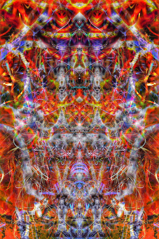 © Nawfal Johnson Nur | Abstract Light Streaks