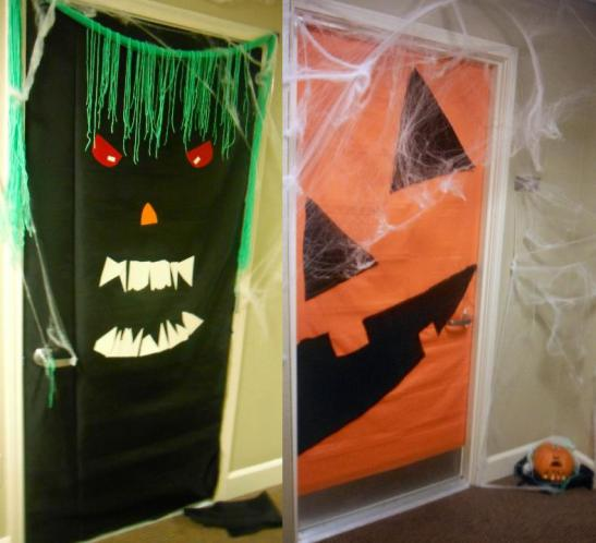 halloween-door-decorating-both-doors
