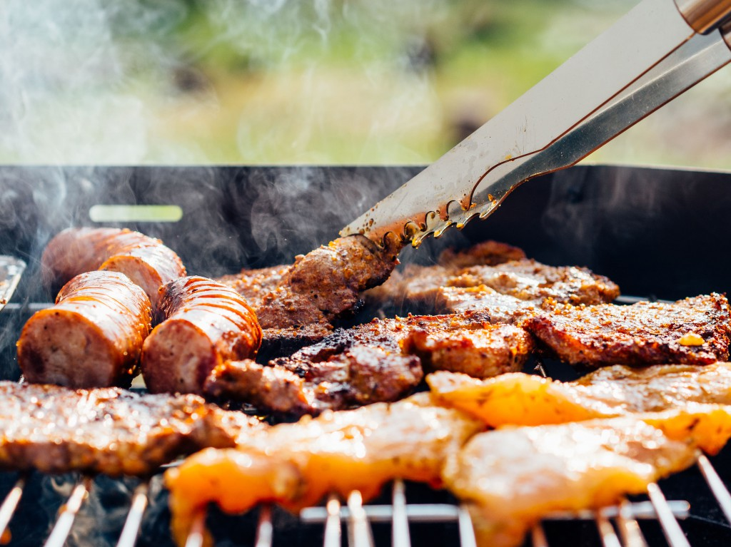 barbecue close up