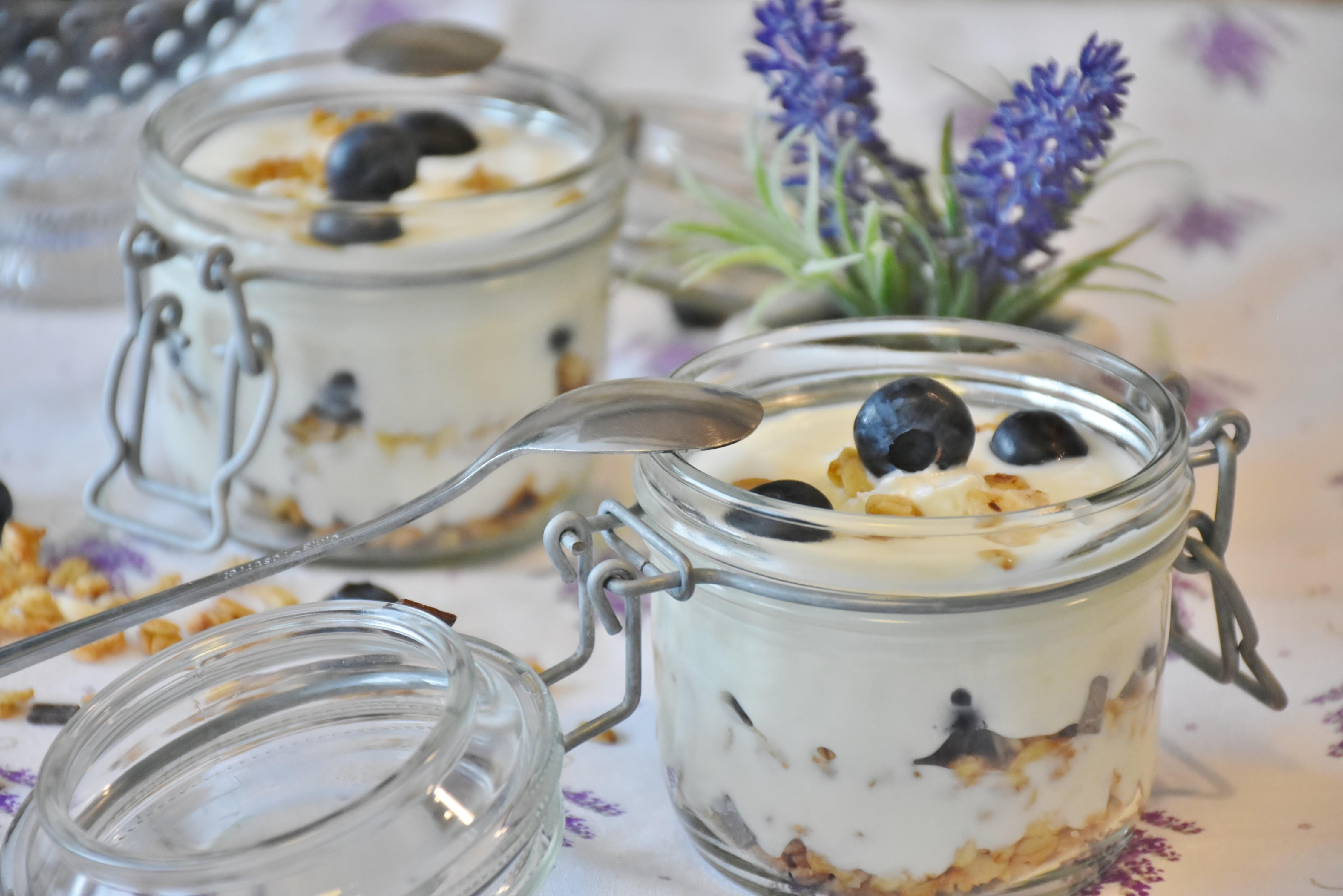 fruit parfait dessert