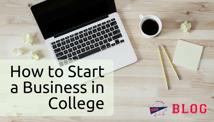 Start a business in college