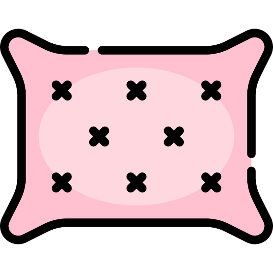 pink pillow icon