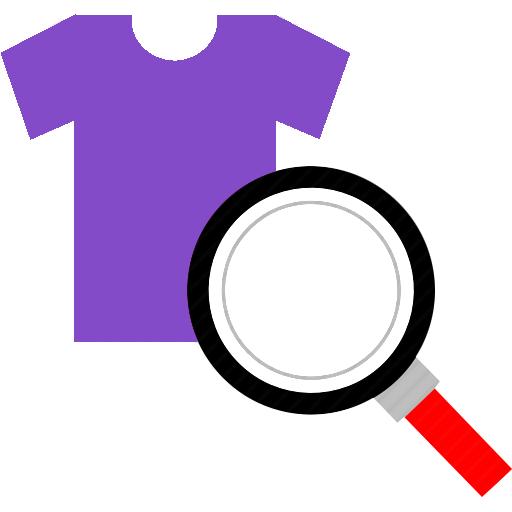 purple shirt icon