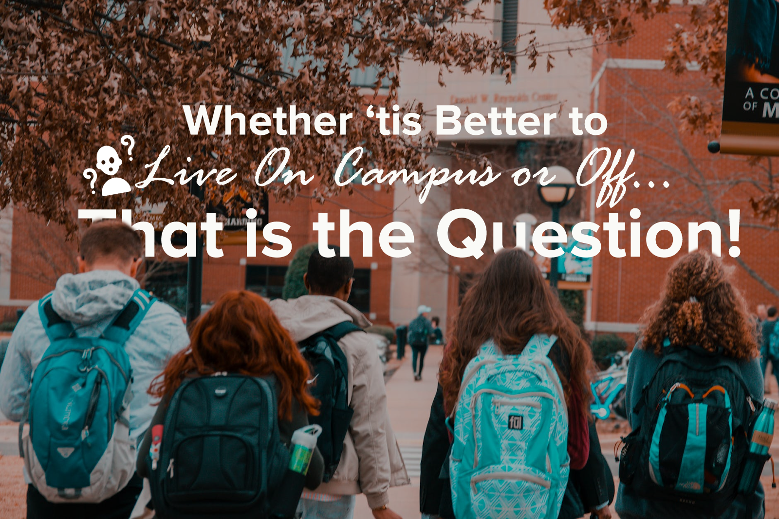 Weighing the pros and cons of living on campus vs. commuting from home