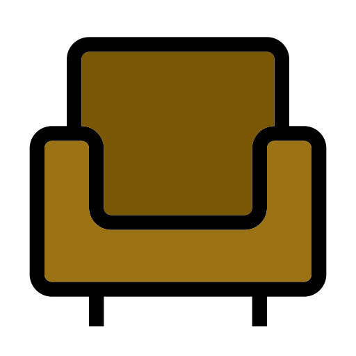 brown chair icon