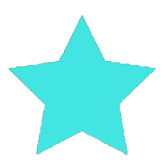 light blue star icon