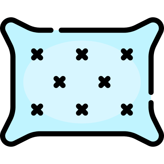 blue pillow icon