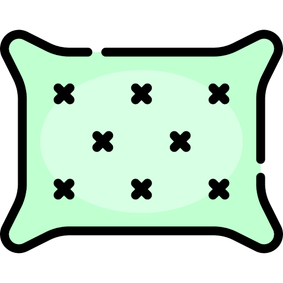 green pillow icon
