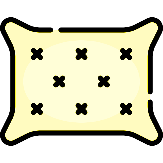 yellow pillow icon