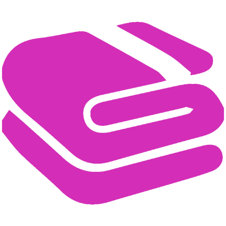 pink blanket icon