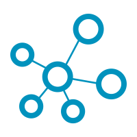 blue network icon