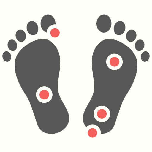 foot sole icon