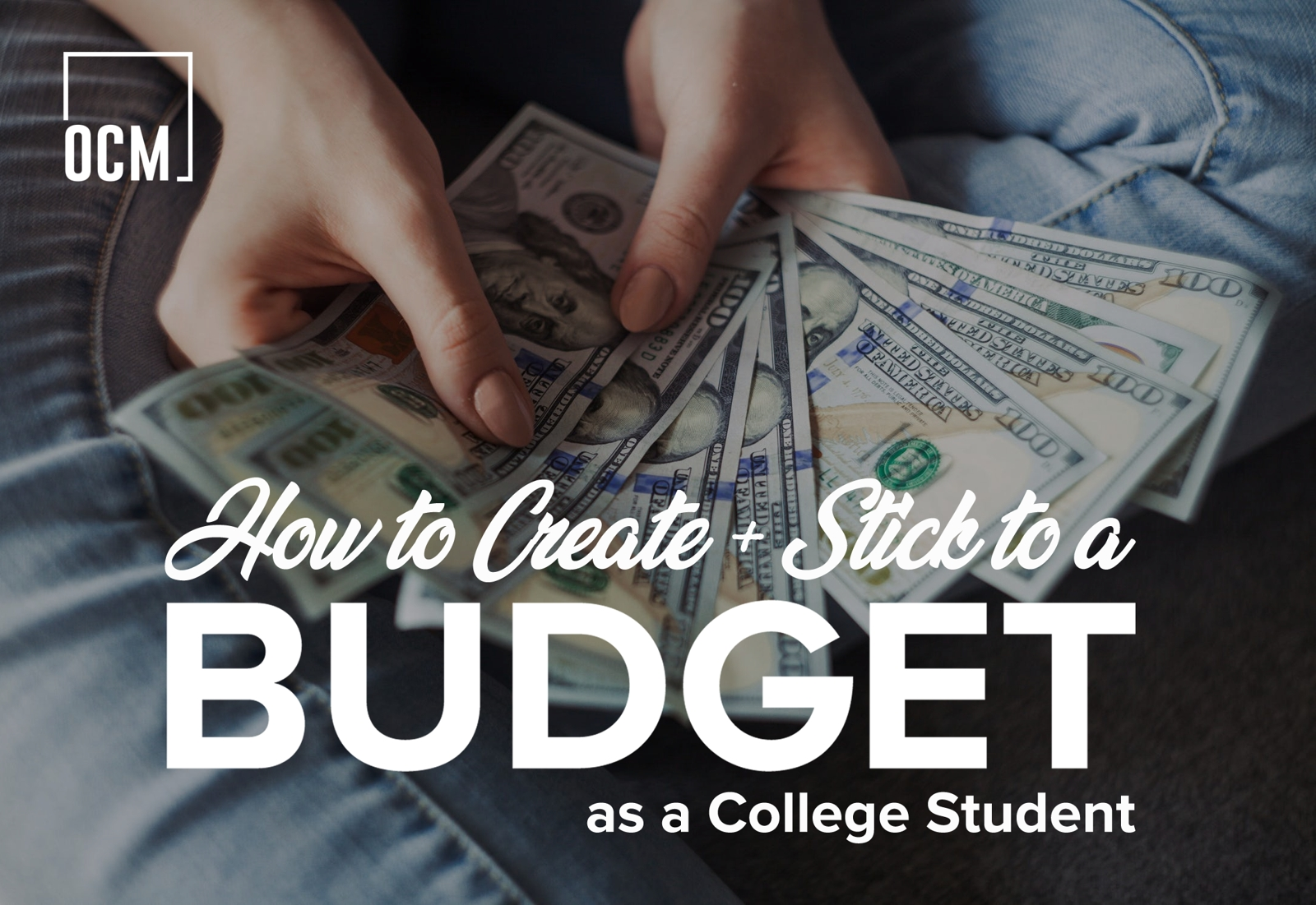 Stick to a Budget as a College Student