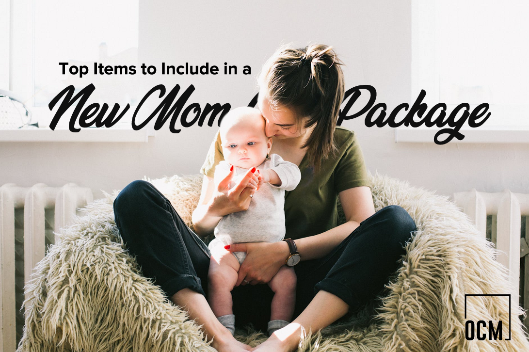 A new mom care package