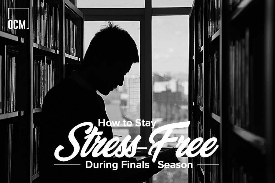 How to Stay Stress-Free During Finals Season
