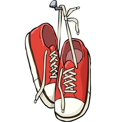 hanging shoes icon