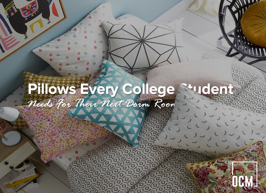 Pillows Every College Student Needs For Their Next Dorm Room