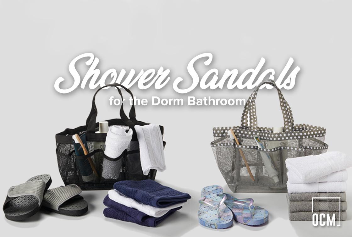 Shower Sandals for the dorm bathroom