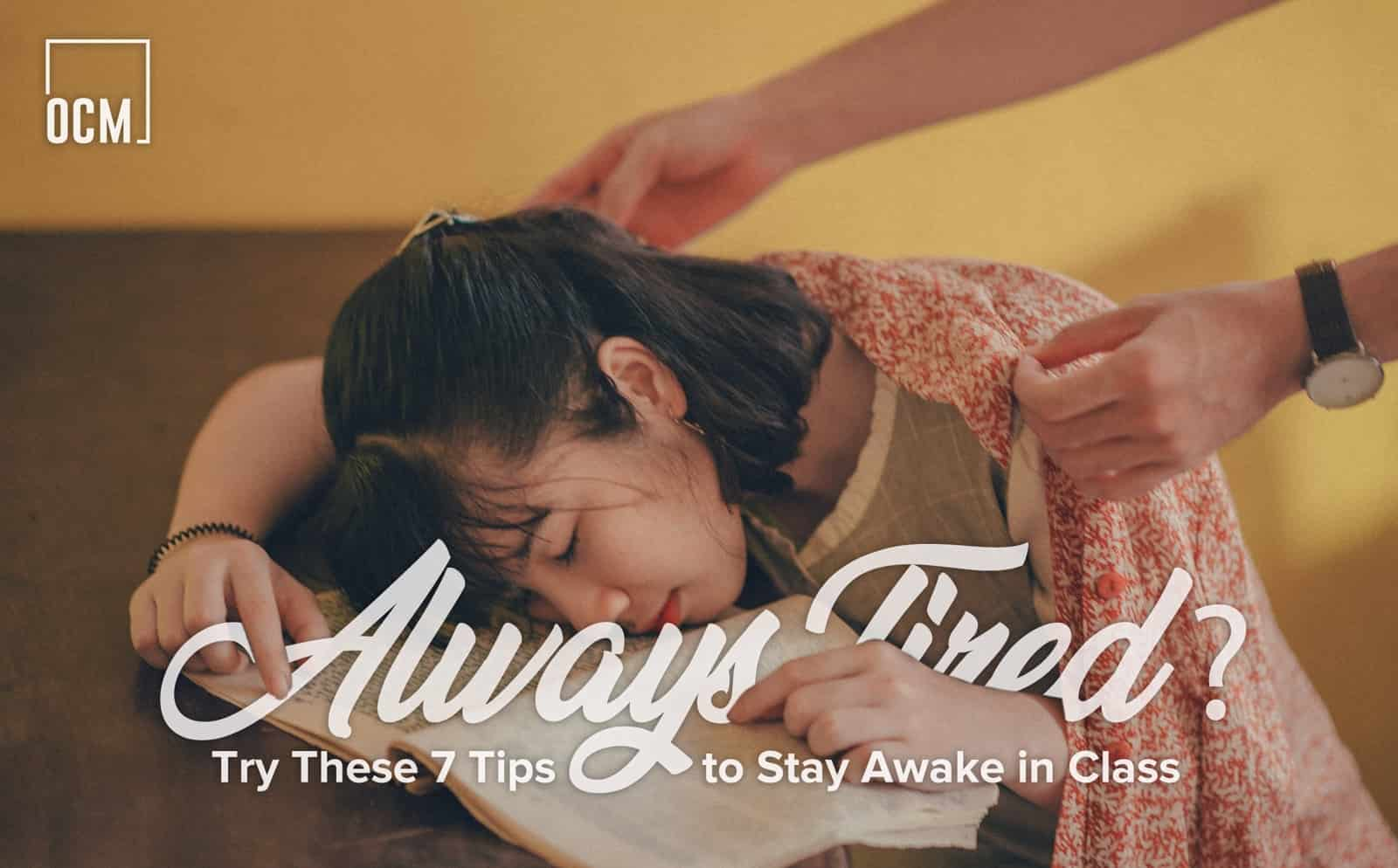 Tips to Stay Awake in Class
