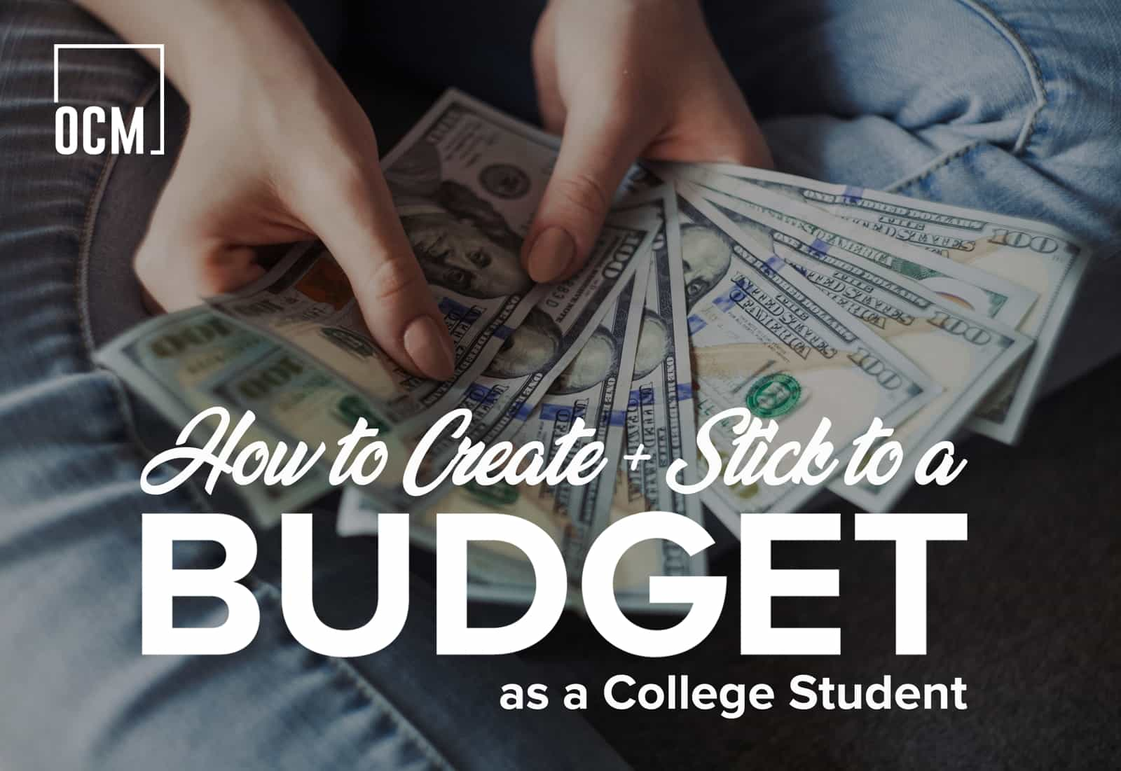 How to create + stick to a budget as a college student