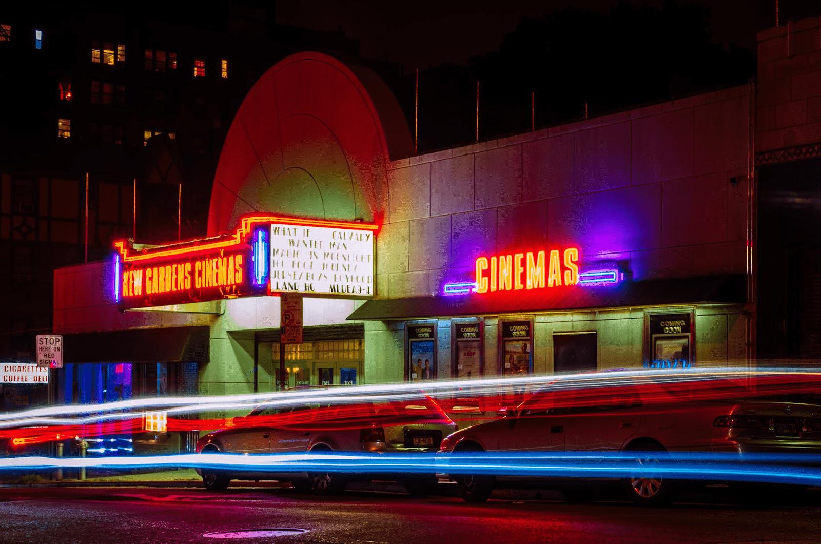 New Gardens Cinemas Facade