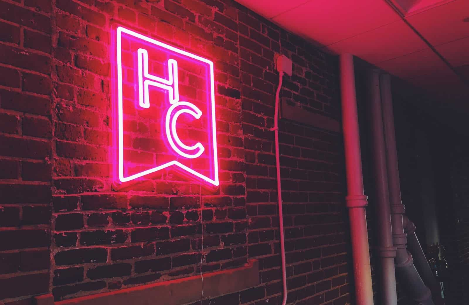 HerCampus Neon Sign