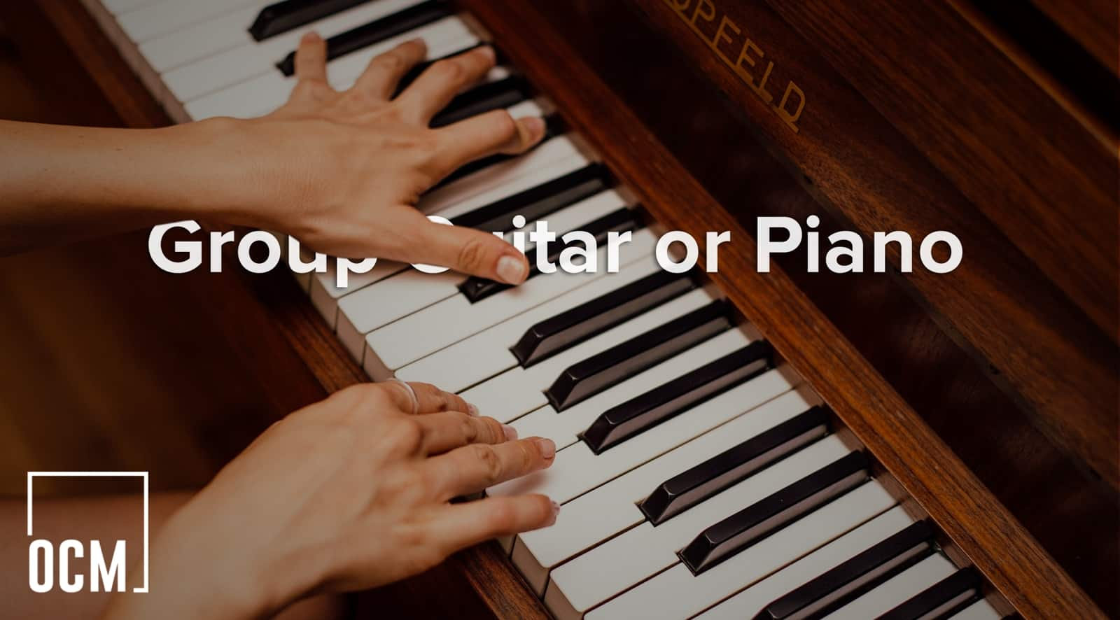 Group Guitar or Piano