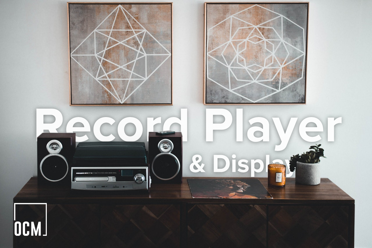 Record Player & Display