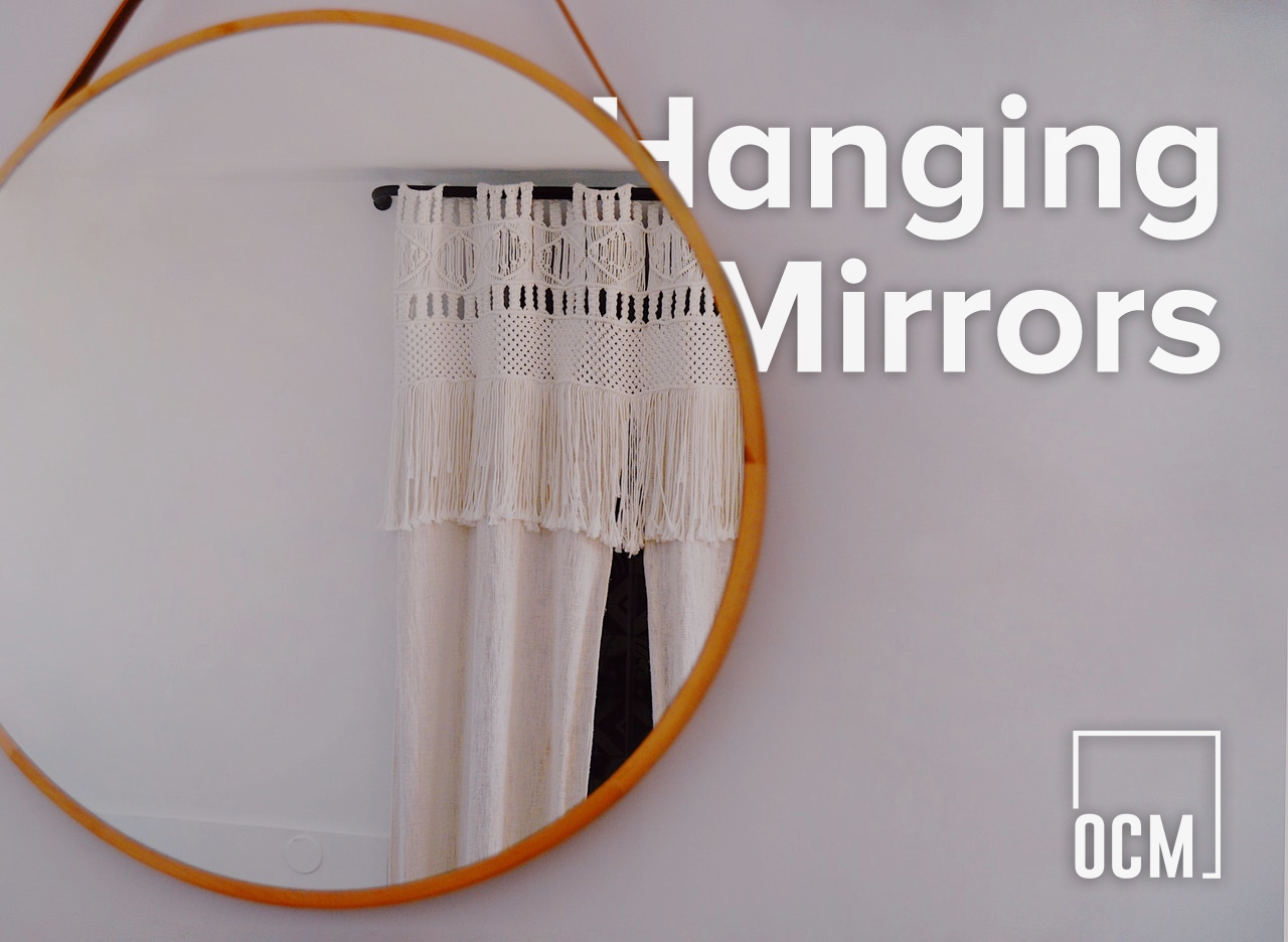 Circle Hanging Mirrors