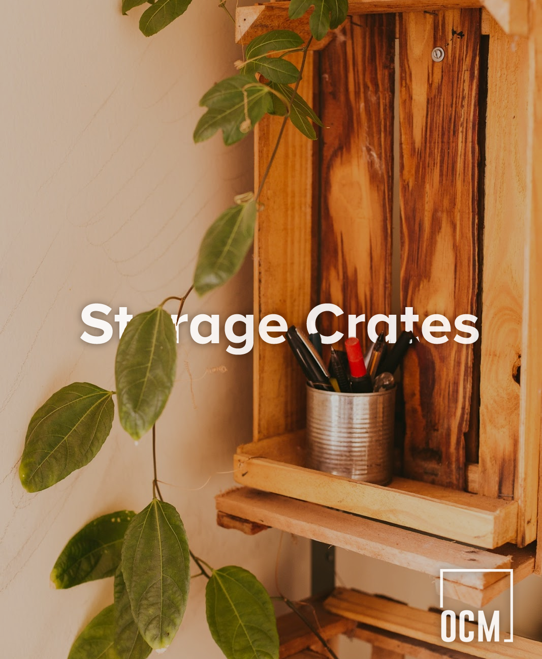 Storage Crates That Double As Decor