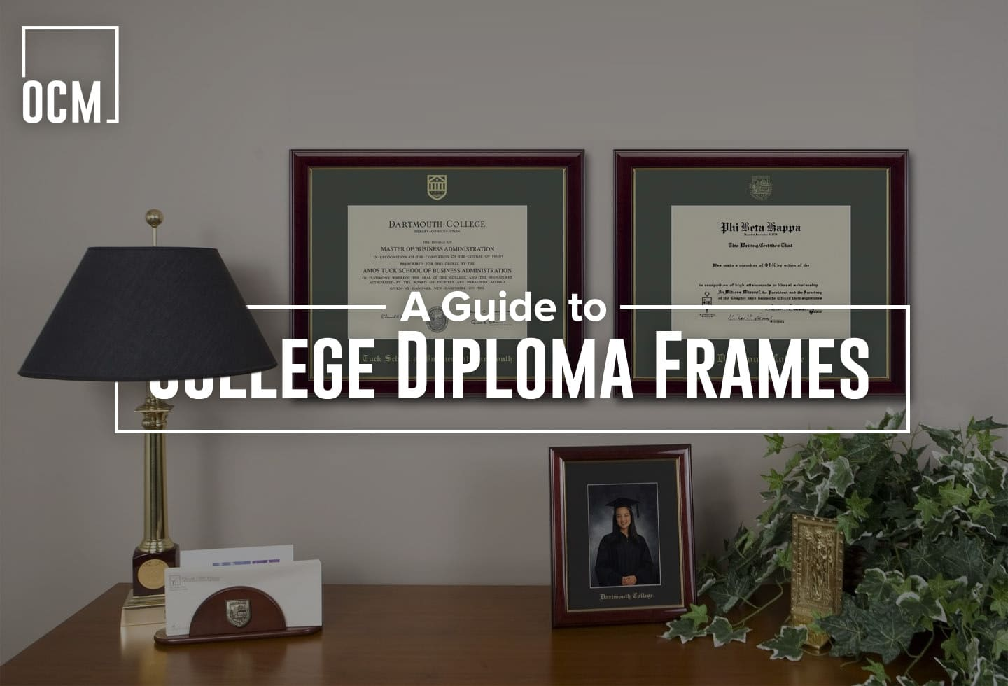 A guide to college diploma frames