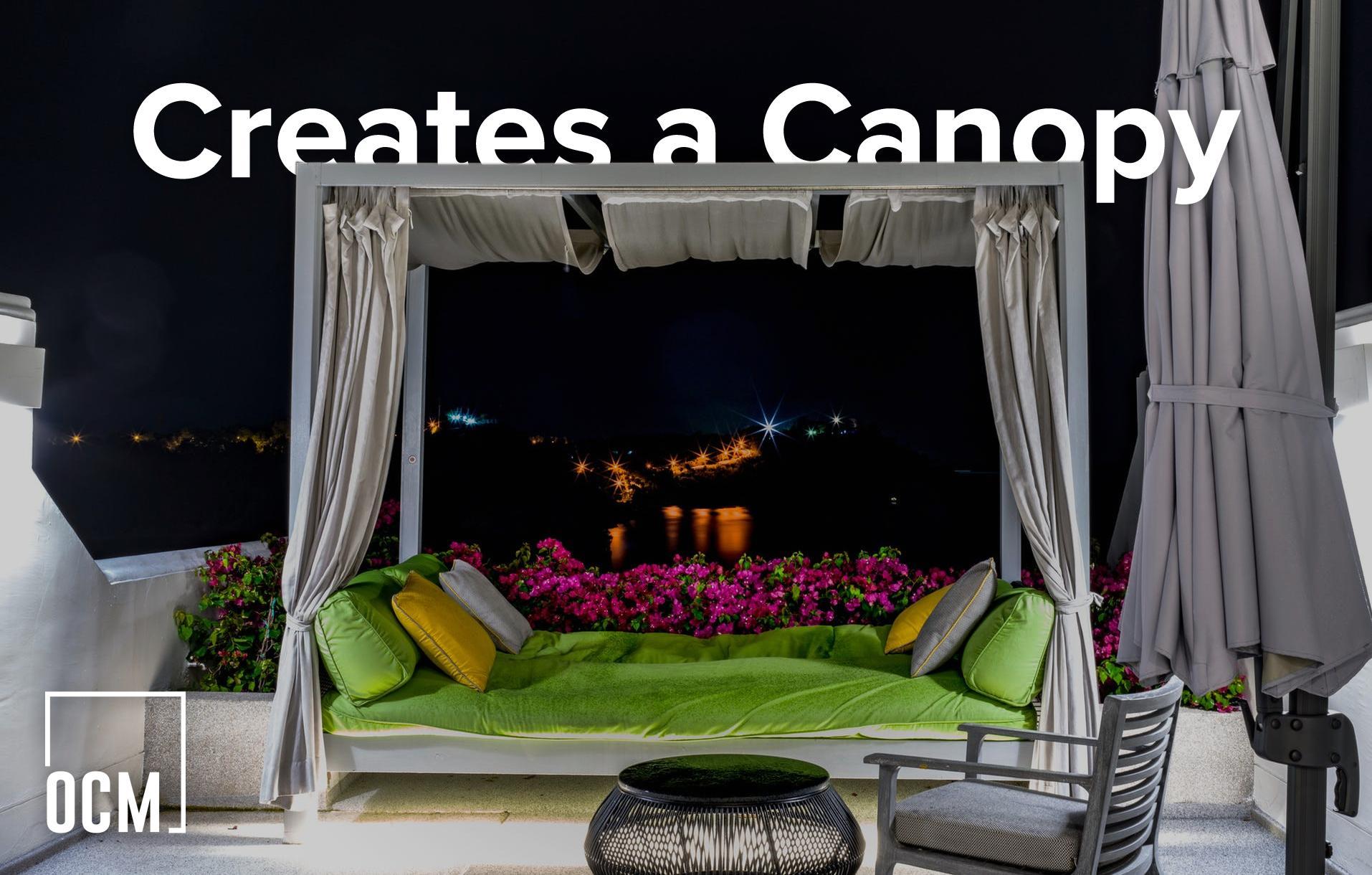 Creates a Canopy