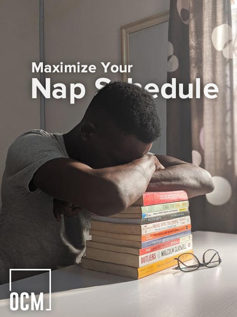 man take a nap