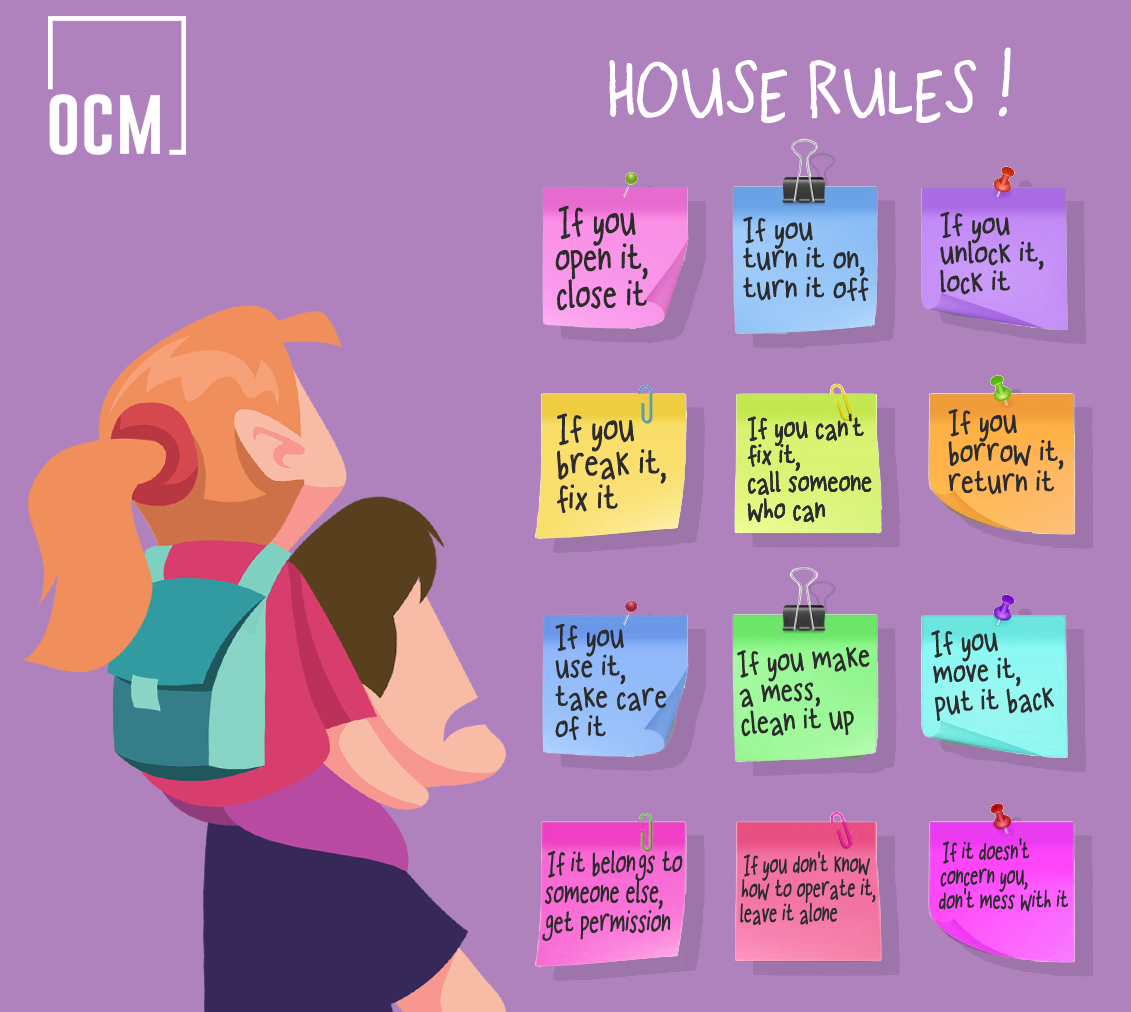 Illustration of House Rules