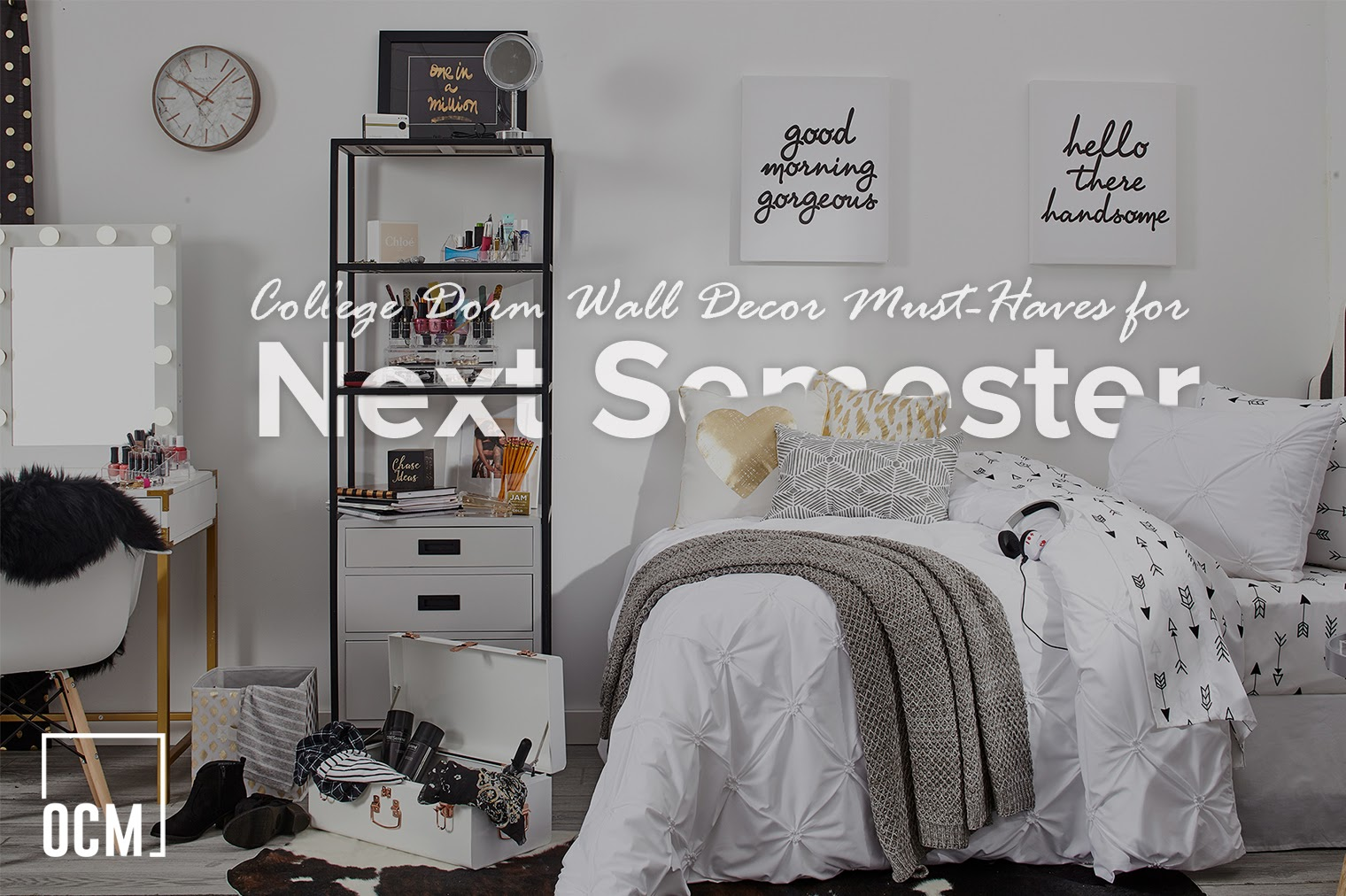 Image of: College Dorm Wall Decor Must Haves For Next Semester