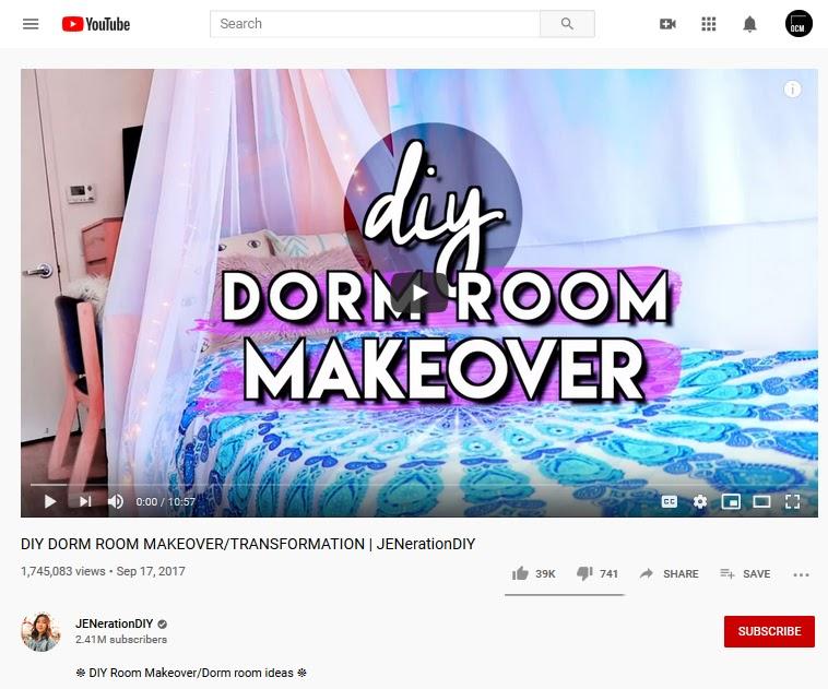 DIY Dorm Room Makeover