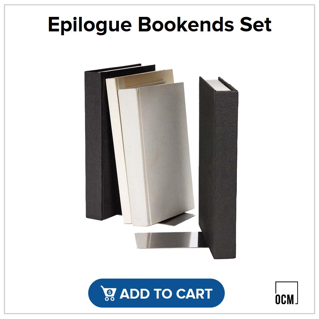 Epilogue Bookends Set