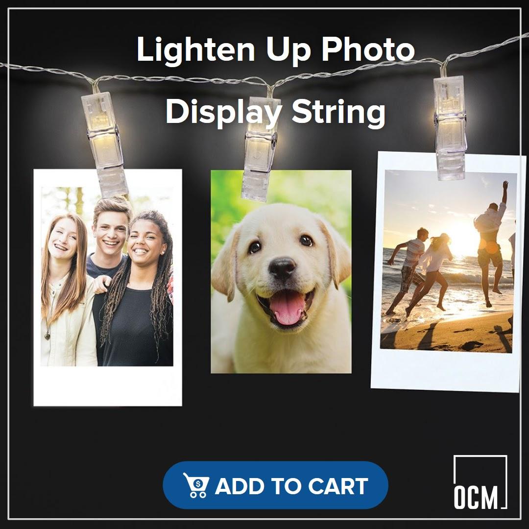 Lighten Up Photo Display String