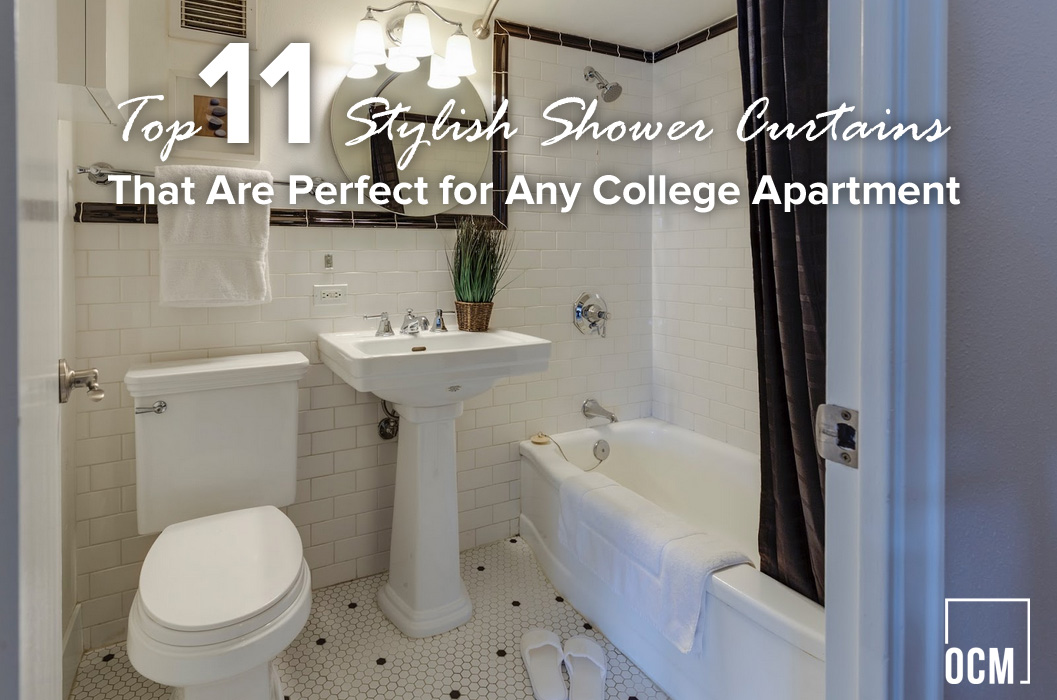 Top 11 Stylish Shower Curtains That Are Perfect For Any College Apartment