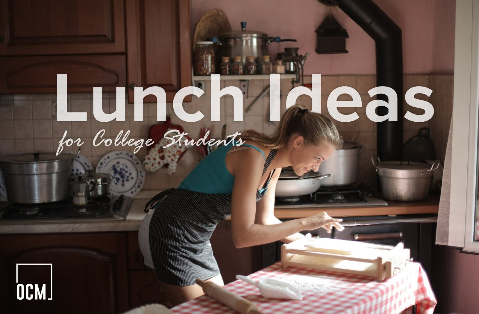 7 Lunch Ideas for College Students