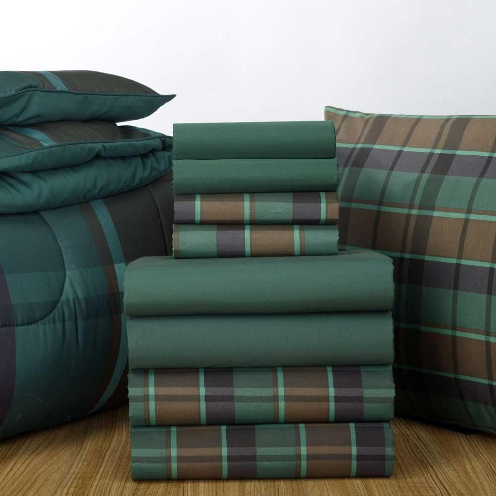 Hunter sheets and Hunter Hampton Plaid comforter. Find this sheet ...