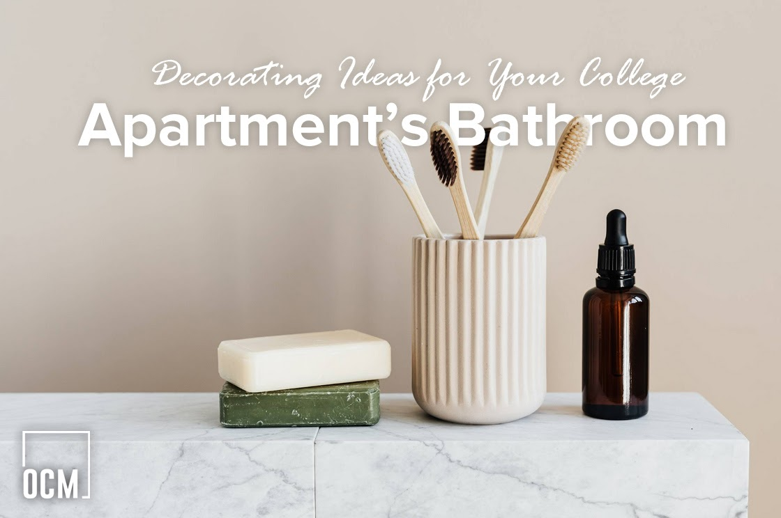 Decorating Ideas for Your College Apartment's Bathroom