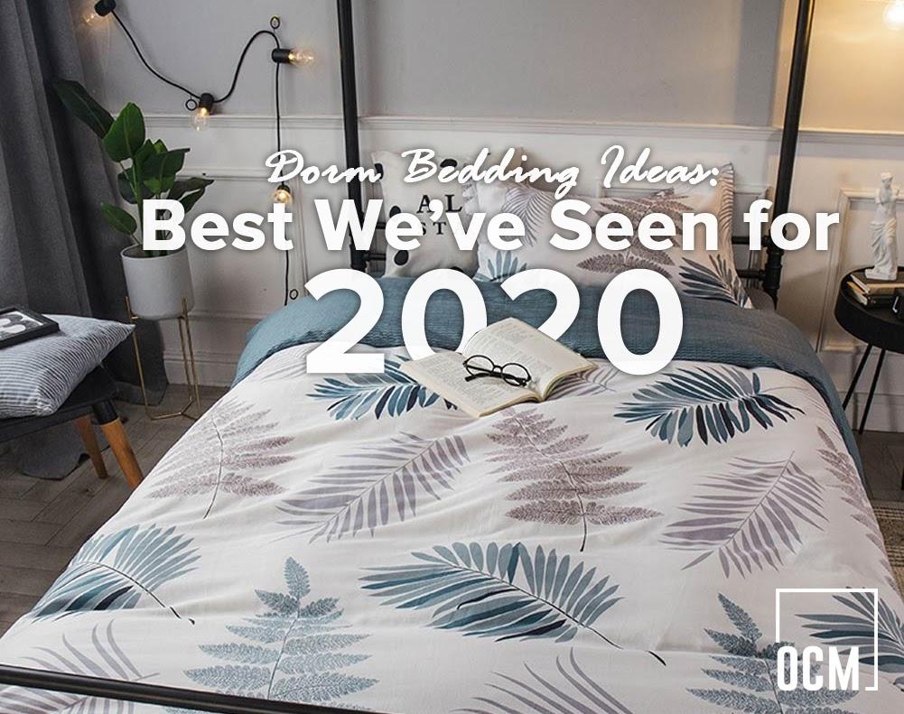 Dorm Bedding Ideas 2020