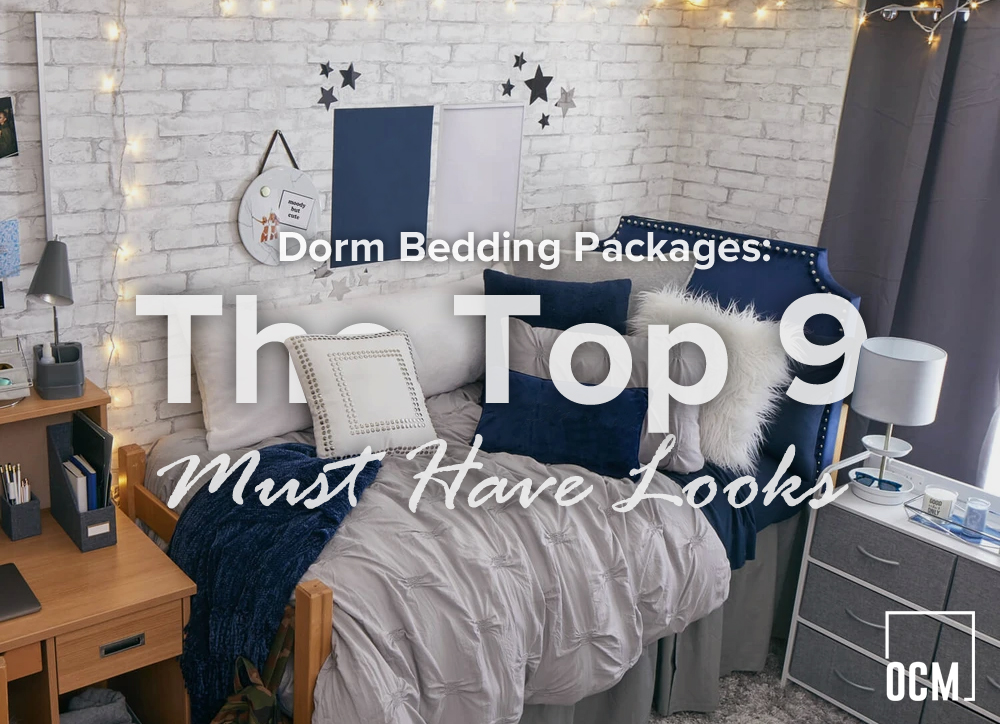 Dorm Bedding Packages: The Top 9 Must Have Looks