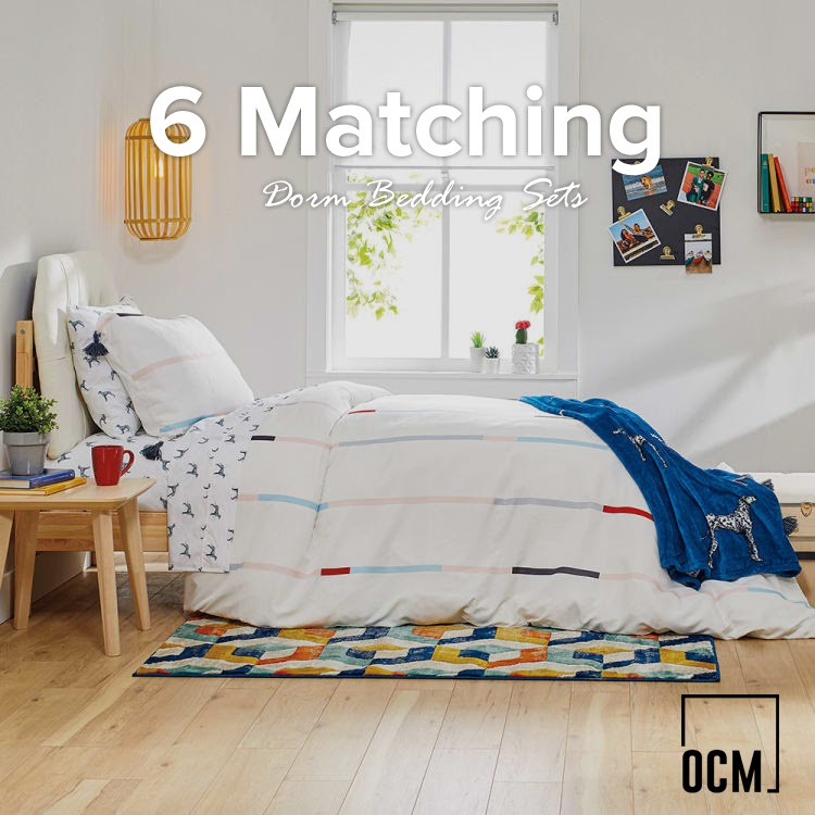 6 Matching Dorm Bedding Sets That'll Make Your Roommate Jealous