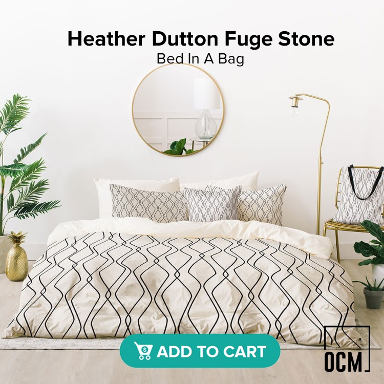Heather Dutton Fuge Stone Bed In A Bag